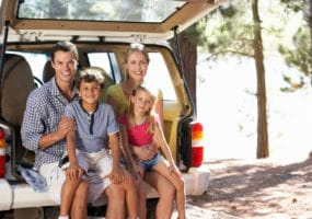 happy family with used car from Sydney Wide Car Brokers